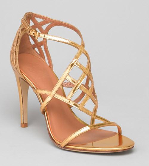 Tory Burch Amalie High Heel Evening Sandals