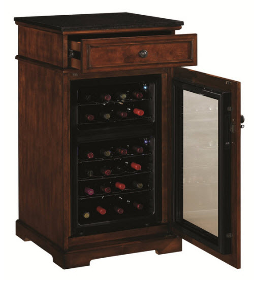 Tresanti madison wine cabinet and cooler for Decor wine cooler