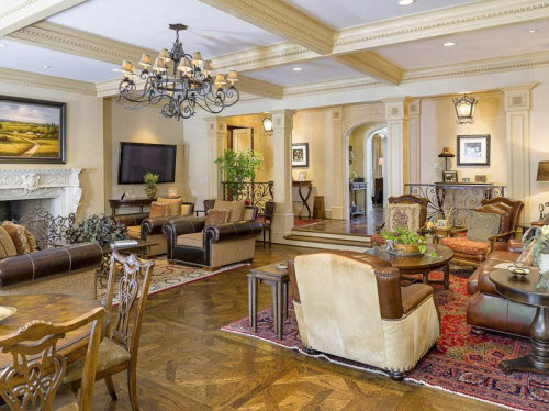 $6.4 Million French Mansion in Dallas Texas 5