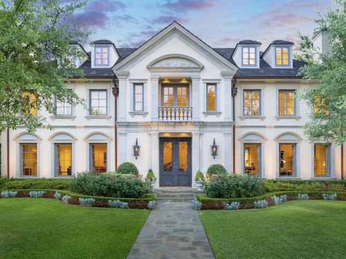 Estate of the day 6 4 million french mansion in dallas for French luxury house