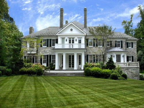 $7.6 Million Georgian Style Mansion in Greenwich Connecticut