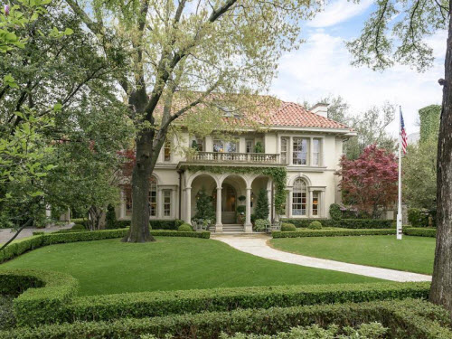 $8 Million Classic Mediterranean Estate in Dallas Texas