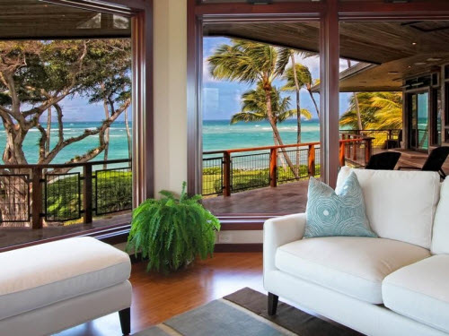 Estate Of The Day 9 5 Million Beachfront Home In Hawaii