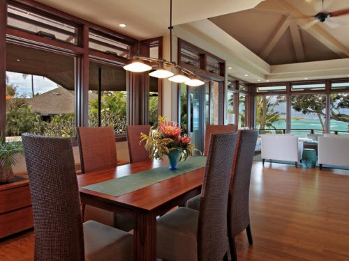 $9.5 Million Beachfront Home in Hawaii 5