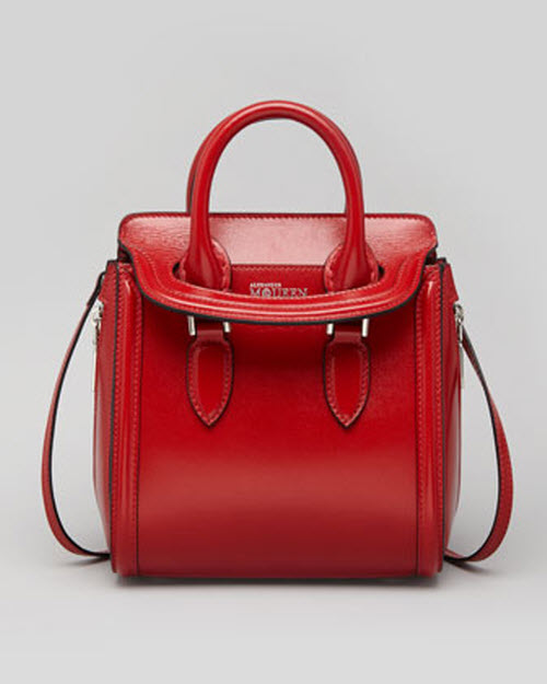 Alexander McQueen Heroine Mini Satchel Bag