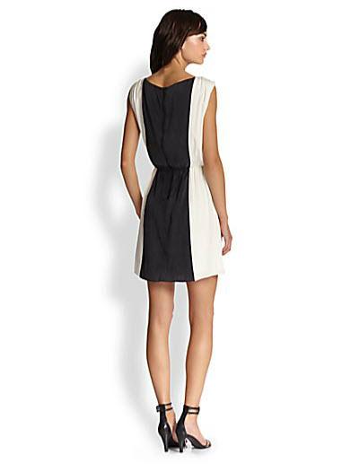 Alice + Olivia Kennedy Silk Dress 2