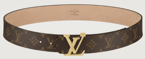 Louis Vuitton LV Initials Monogram Belt