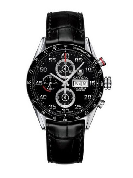 Men's TAG Heuer Carrera Automatic Chronograph Day-Date Watch
