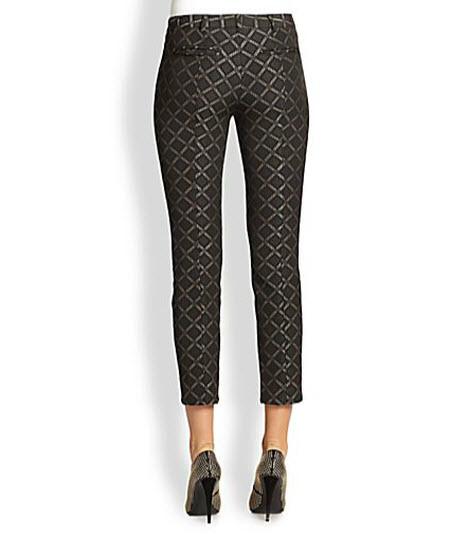 Nanette Lepore Tilework Pants 2