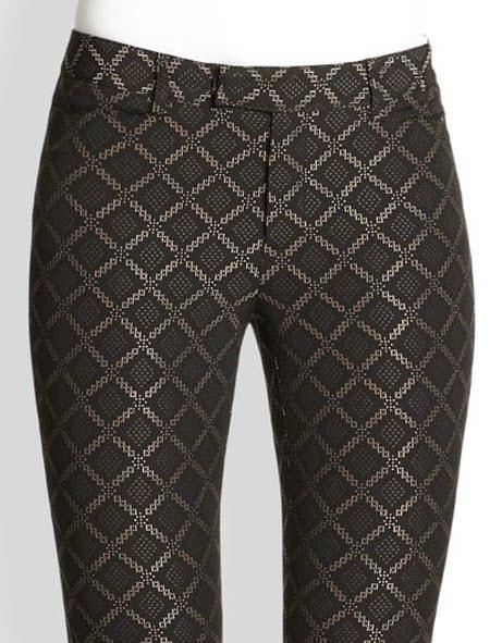 Nanette Lepore Tilework Pants 3