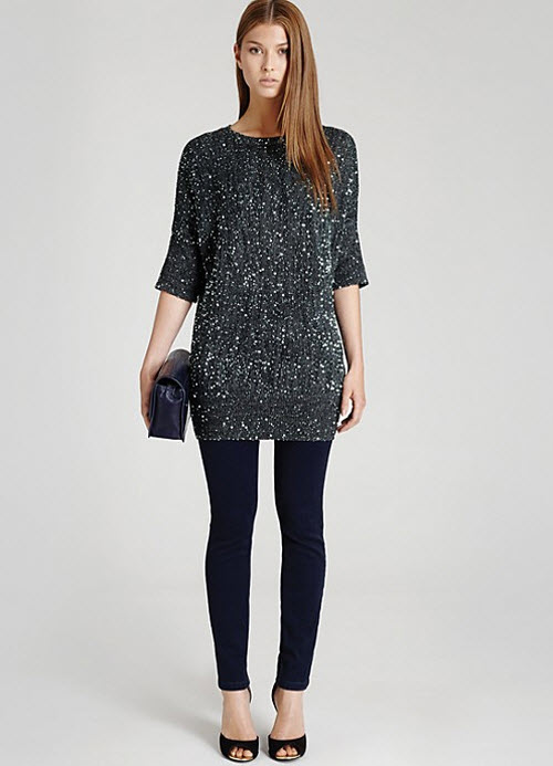 Reiss Lewes Sequin Sweater 2