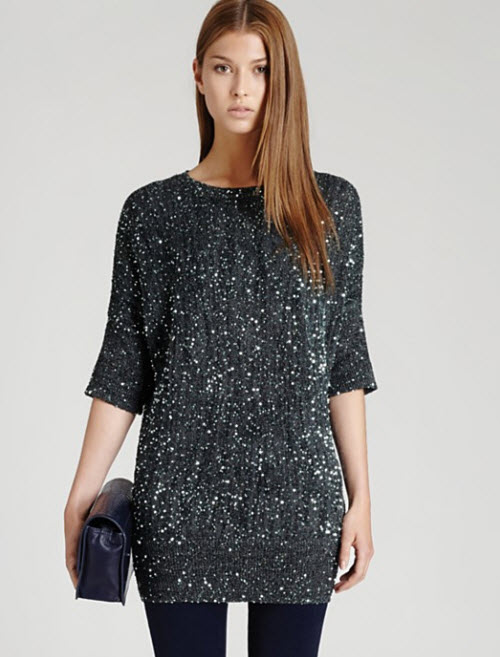 Reiss Lewes Sequin Sweater