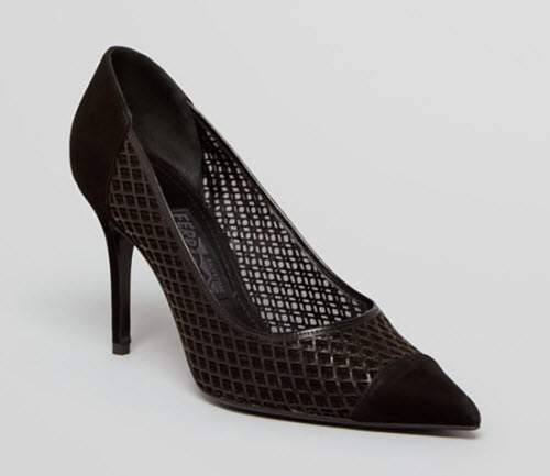 Salvatore Ferragamo Renita Runway High Heel Pointed Toe Pumps 4