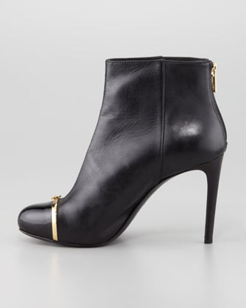 Tory Burch Pacey Cap-Toe Ankle Bootie 2