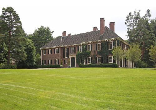 $17 Million Georgian Revival Manor in Massachusetts