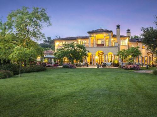 $18.5 Million European Country Estate in California