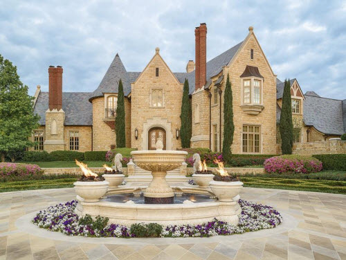 Estate of the day 19 5 million opulent mansion in dallas for Mansions in dallas tx