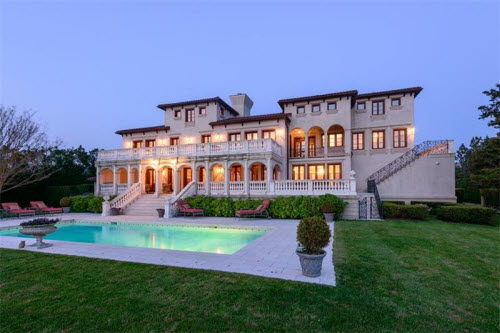 $19.9 Million Mediterranean Mansion in Bridgehampton New York 7