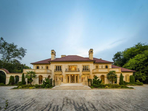 $19.9 Million Palatial Masterpiece in Atlanta Georgia