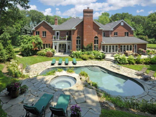 $3.8 Million Georgian Mansion in New Jersey 2