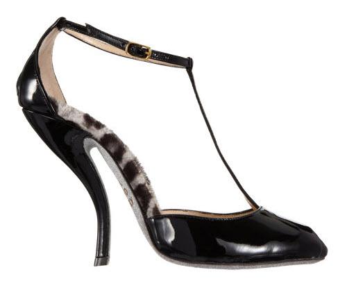 Alberto Moretti T-Strap Glitter Sole Sandal 3