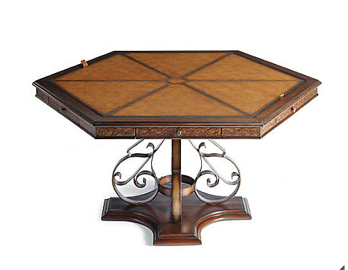 Frontgate Saratoga Game Table and Chairs 2