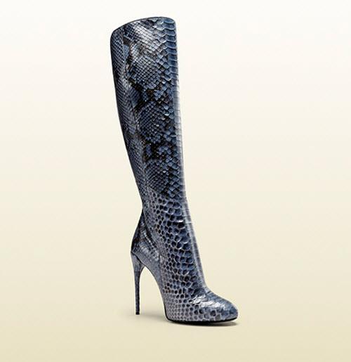Gucci Kim Python Knee Boot 4