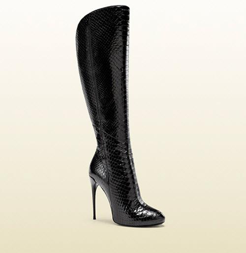 Gucci Kim Python Knee Boot 6