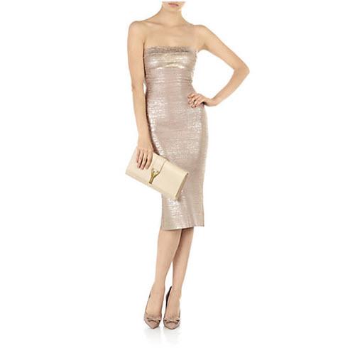 Herve Leger Sianna Bandage Dress 2