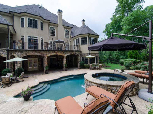 $1.9 Million La Rosa Estate in Alpharetta Georgia 8