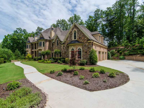 $1.9 Million La Rosa Estate in Alpharetta Georgia