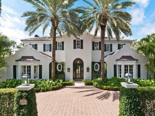 $10.75 Million Dutch Colonial Mansion in Palm Beach Florida