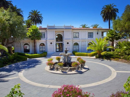 $12 Million Gorgeous Italian Villa in California