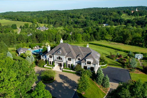 $6.5 Million European Mansion in New Jersey