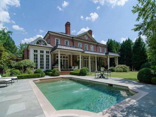 $7.5 Million Georgian Regency Mansion in Atlanta Georgia 8