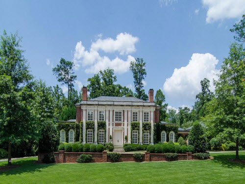 $7.5 Million Georgian Regency Mansion in Atlanta Georgia