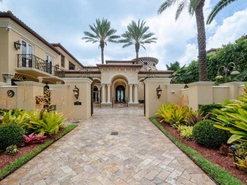 $8.9 Million Waterfront Mansion in Miami Beach Florida 2