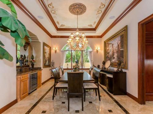 $8.9 Million Waterfront Mansion in Miami Beach Florida 6