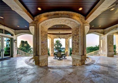 $9.9 Million Stone Chateau Costa Bella in Austin Texas 11