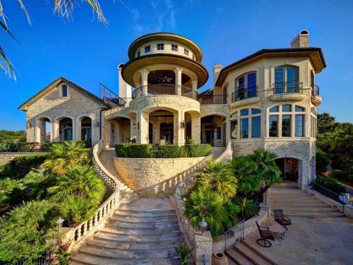 $9.9 Million Stone Chateau Costa Bella in Austin Texas 12
