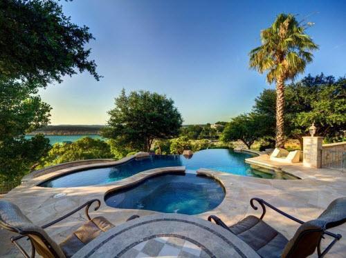 $9.9 Million Stone Chateau Costa Bella in Austin Texas 13