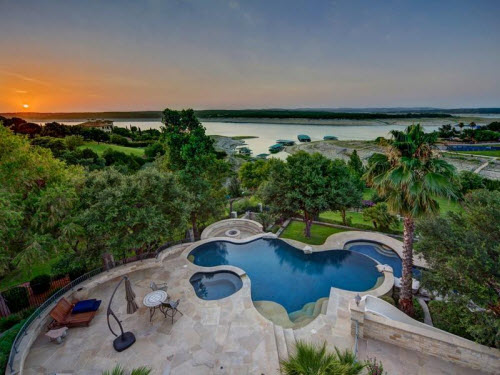$9.9 Million Stone Chateau Costa Bella in Austin Texas 14