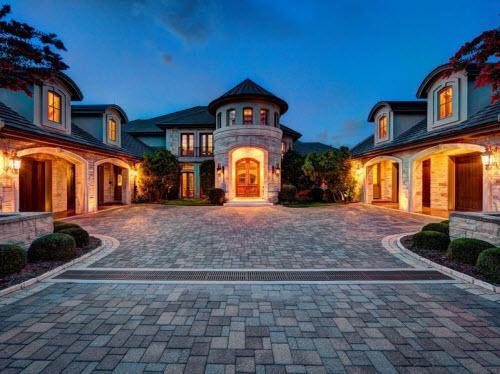 $9.9 Million Stone Chateau Costa Bella in Austin Texas 2