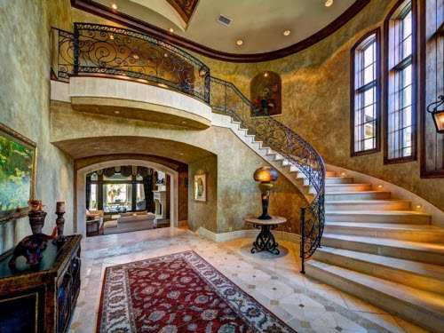 $9.9 Million Stone Chateau Costa Bella in Austin Texas 4