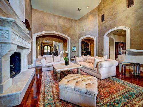$9.9 Million Stone Chateau Costa Bella in Austin Texas 6
