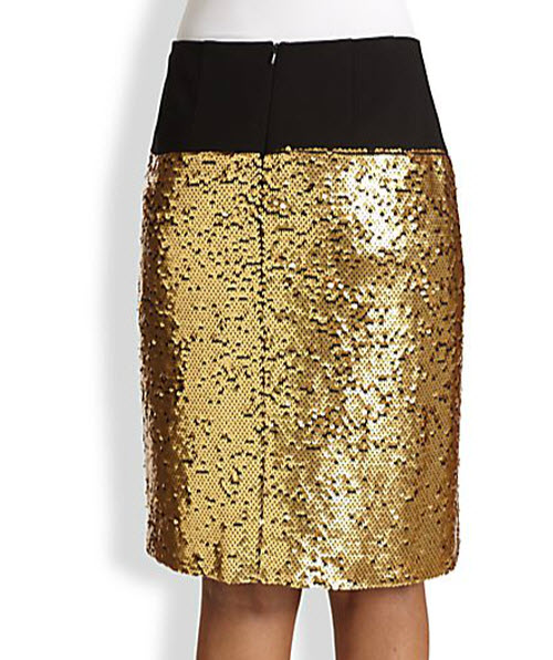 DKNY Sequined Skirt 2