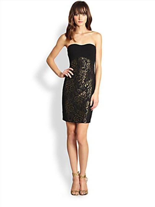 Diane Von Furstenberg Garland Strapless Fl Jacquard Dress 2