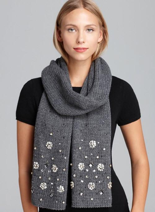 Kate Spade New York Snowed In scarf