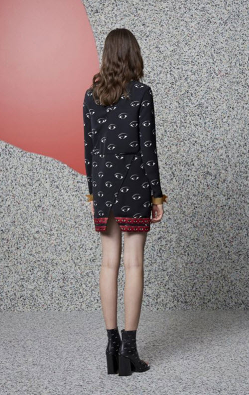 Kenzo Eye Print Dress 2