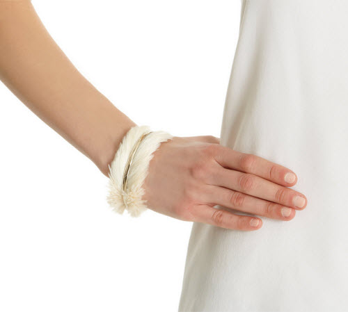 Nina Ricci Feather Cuff 2
